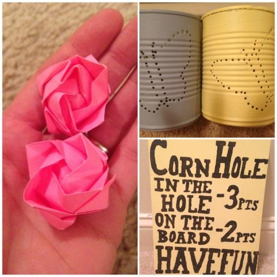 Lanterns, Origami Roses