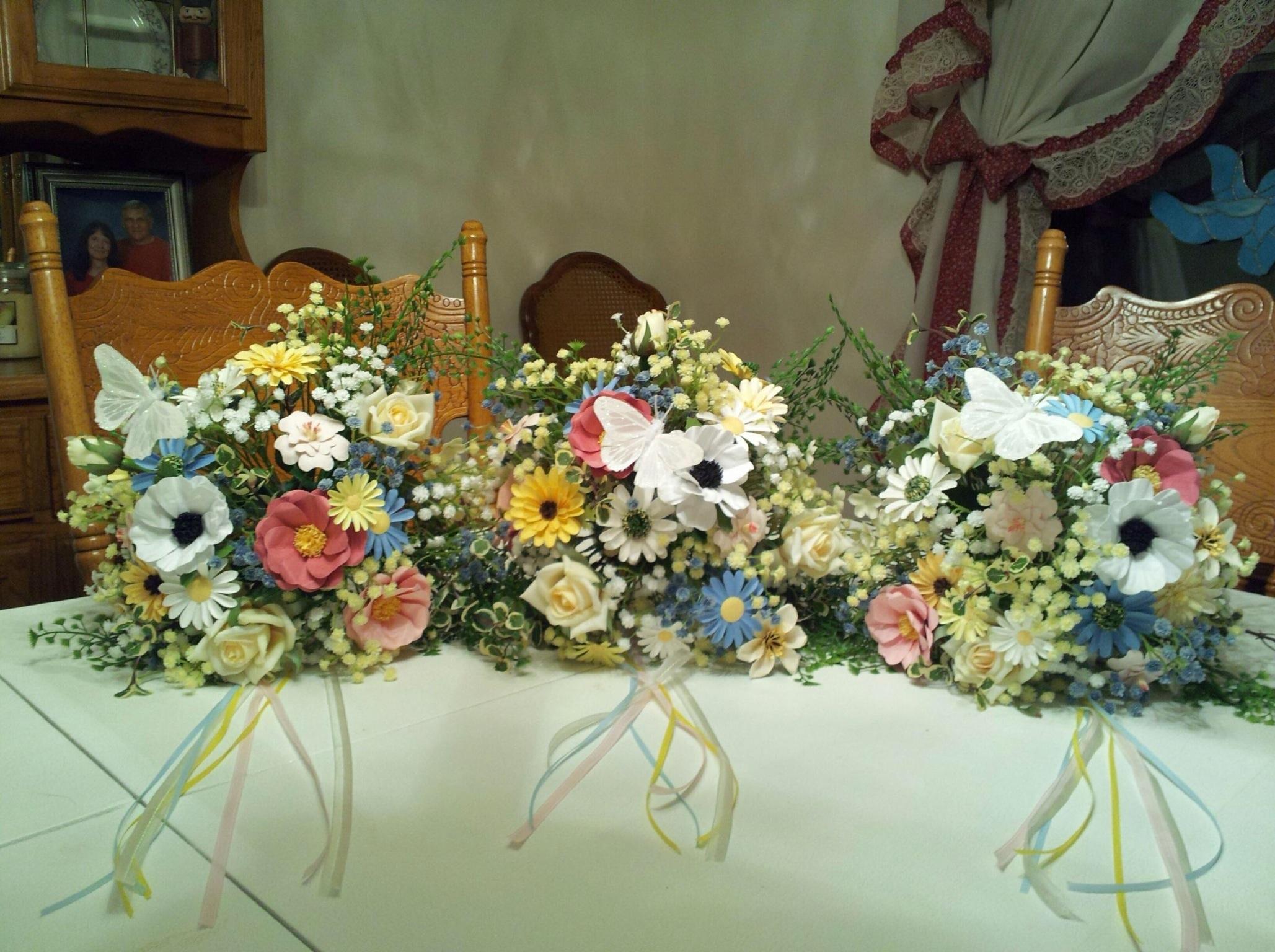 Crafting Flowers Flat Broke Bride