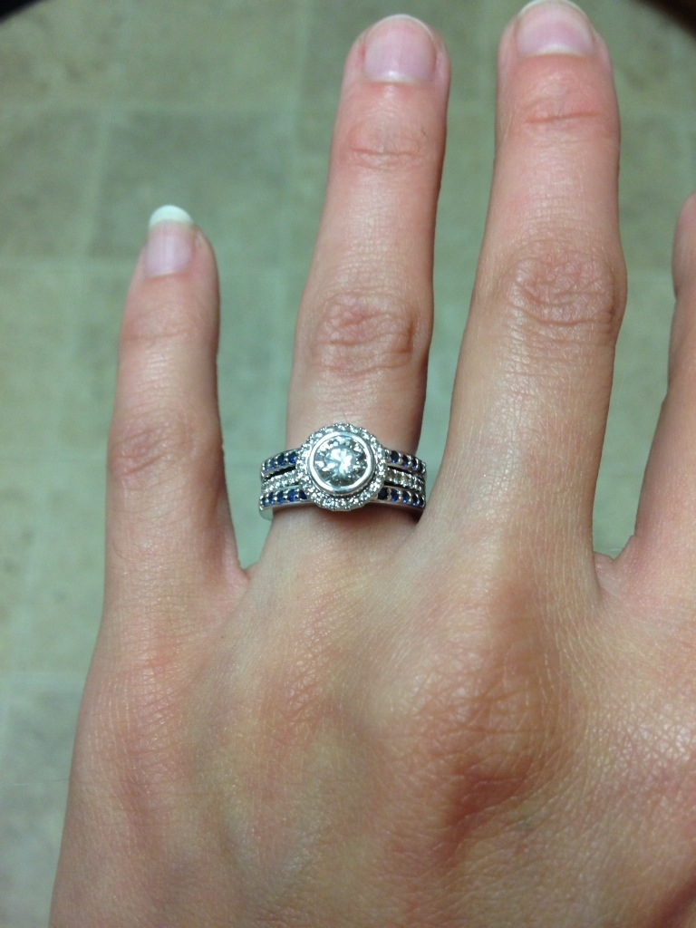 Cleaning My Engagement Ring (The Cheap Way)   Flat Broke Bride